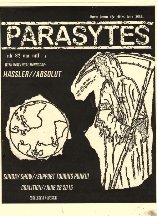 parasytes flyer